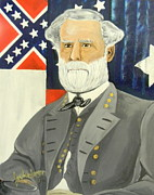 Robert E Lee Paintings - General Robert E. Lee by Joseph Anderson