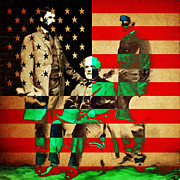 Slavery Digital Art Metal Prints - General Robert E Lee Metal Print by Wingsdomain Art and Photography