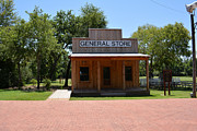 Log Cabins Prints - General Store at Historical Park Print by Ruth  Housley
