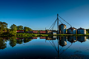 Feed Mill Photos - Genesee Mill by Randy Scherkenbach