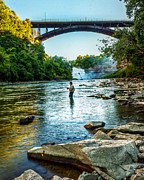 Tim Buisman Art - Genesee River  by Tim Buisman