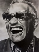 Ray Charles Prints - Genius of Soul Print by Brian Broadway
