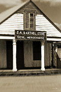 Country Store Metal Prints - Genl Merchandise Metal Print by Scott Pellegrin