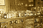 Genoa Bar Oldest Saloon In Nevada's Old West History Print by Artist and Photographer Laura Wrede