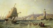 Genoa Print by John Wilson Carmichael
