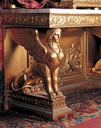 Winged Figure Posters - Genoan Workmanship, Console Table, 1840 Poster by Everett