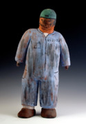 Worker Ceramics - Gente Not  Numbers- Coveralls by Angel Luna