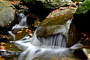 Gentle Falls Print by Frozen in Time Fine Art Photography