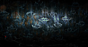 Rain Digital Art - Gentle Rain by Adam Vance