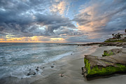 La Jolla Photos - Gentle Sunset by Peter Tellone