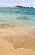 Laniakea Beach Prints - Gentle Water Print by Ron Regalado