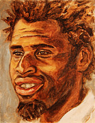 African-americans Originals - Gentleman with Goatee by Xueling Zou