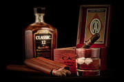 Liquor Art - Gentlemens Club Still Life by Tom Mc Nemar