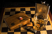 Board Game Photos - Gentlemens Weekend by Andrew Pacheco