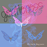 Gentleness Framed Prints - Gentleness Framed Print by Michelle Benjamin