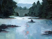 Limburg Paintings - Gently Down the Stream by Erin Rickelton