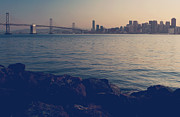 San Francisco Bay Prints - Gently the Evening Comes Print by Laurie Search