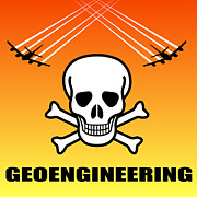 Global Digital Art - Geoengineering Hazards by Daniel Hagerman
