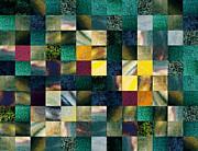 Irina Sztukowski - Geometric Abstract Design Forest Lights