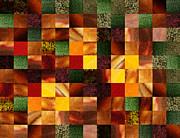 Irina Sztukowski - Geometric Abstract Quilted Meadow