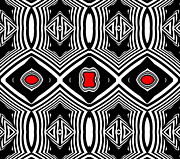 Drinka Mercep - Geometric Pattern Black...