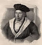 German Prints - Georg Wilhelm Friedrich Hegel Print by German School