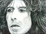 George Harrison Drawings - George by Art by Kar