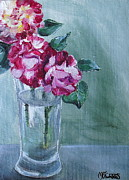 George Burns Roses Print by Melissa Torres