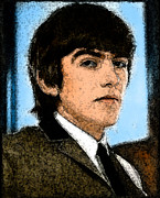 Beatles Digital Art - George by Digital  Hiccup