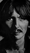 George Harrison Drawings - George Harrison  by Andres Delgado