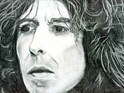 Harrison Mixed Media Prints - George Harrison Print by Art by Kar