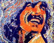 George Harrison Print by Barry Novis