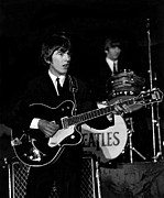 Beatles Photos - George Harrison by Kai Mort Shuman