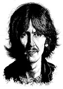 George Harrison Art - George Harrison by Kenneth Stock