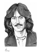 George Harrison Print by Murphy Elliott