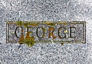 Grave Photos - George by Karon Melillo DeVega