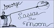 George Lassos The Moon Print by Dan Sproul