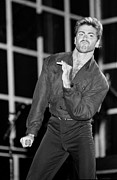 Blue-eyed Soul Prints - George Michael  Print by Front Row  Photographs