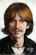 Musicians Pastels - George by Shelley Phillips