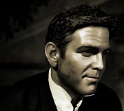 Rat Pack Art - George Timothy Clooney by Lee Dos Santos