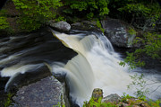 Poconos Art - George W Childs Park Waterfall by Bill Cannon