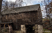 Old Mills Photos - George Washington 1776 Grist Mill by Anthony Thomas