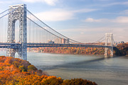 Bridges Art - George Washington Bridge by Clarence Holmes