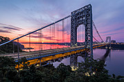 New Jersey Photo Originals - George Washington Bridge by Mihai Andritoiu