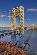 Little Red River Art - George Washington Bridge by Susan Candelario