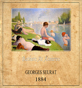 Georges Seurat 1 Print by Andrew Fare