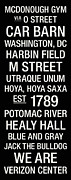 Healy Posters - Georgetown College Town Wall Art Poster by Replay Photos