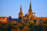 Georgetown Metal Prints - Georgetown University Metal Print by Mitch Cat