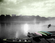 Rowers Photos - Georgetown Waterfront by Jan Faul