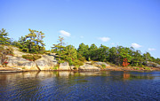 Bay Islands Photo Prints - Georgian Bay Island Print by Charline Xia